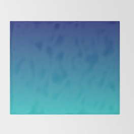 Aqua Marine Throw Blanket