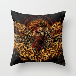 Back from the Dead Throw Pillow