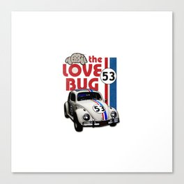 Herbie The Love Bug Canvas Print