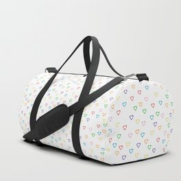 Candy Hearts Duffle Bag