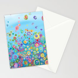 Inner Circle - Blue Stationery Cards