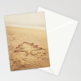 Merry Christmas! - Christmas at the beach Stationery Cards