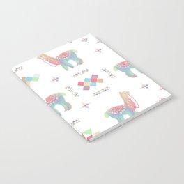 Colorful Alpaca Notebook
