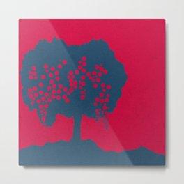 Fruit Tree Series, Red II Metal Print