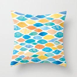 Watercolour Ocean | Desert Palette Throw Pillow