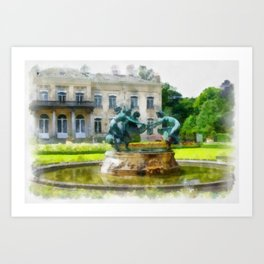 Castle Den Brandt Art Print