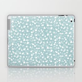 tiny mountains Laptop & iPad Skin