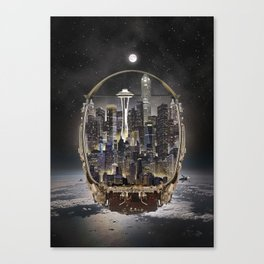 Daft Punk Helmet 1 Canvas Print