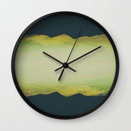 paisaje intervenido Wall Clock