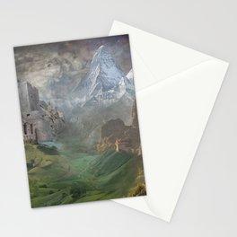 Misty Mountain Mines Stationery Cards