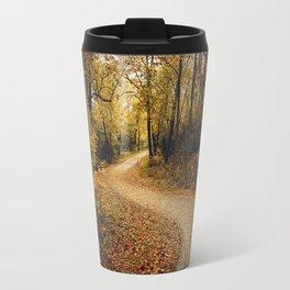 Autumn Path Travel Mug