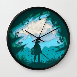 Breath of Warrior Wall Clock