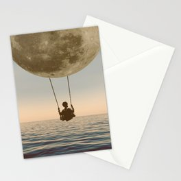 DREAM BIG/MOON CHILD SWING Stationery Cards