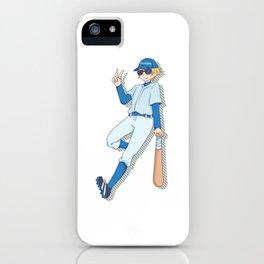 Baseball Sport Young Man Anime Manga Gift iPhone Case