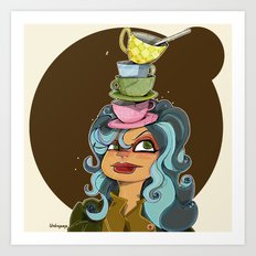 Tea Tyme Y'all Art Print