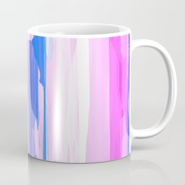 Colorful Streaked Stripes 2 Coffee Mug