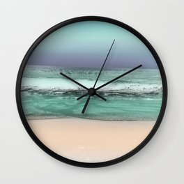 Twilight Sea #2 Wall Clock