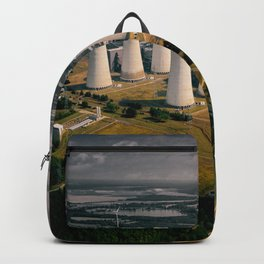 Coal Power Plant in Germany Backpack