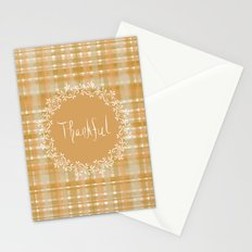 Autumn Weave Thankful Stationery Cards