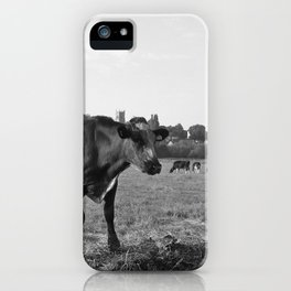 Cow Field iPhone Case