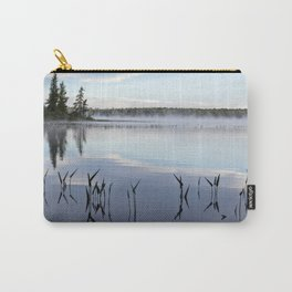 trees and weeds reflected Carry-All Pouch