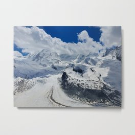 Pure Bliss in the Swiss Alps Metal Print