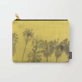 Yellow Palms Carry-All Pouch