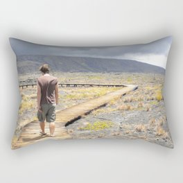 Where Do I Go? Rectangular Pillow