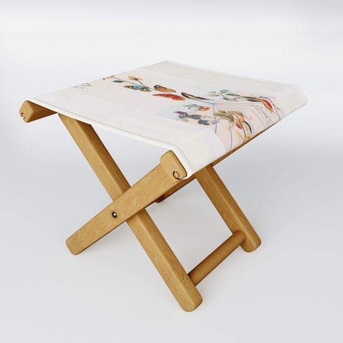 Salvador Dali Folding Stool