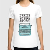 write T-shirts featuring I Write  by Kendra Amy Allen