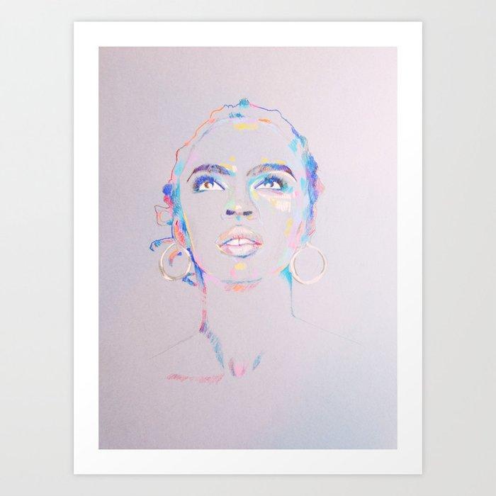 Lauryn Hill Kunstdrucke
