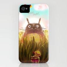 Totoro: Hide and Seek Slim Case iPhone (4, 4s)