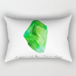 august peridot Rectangular Pillow