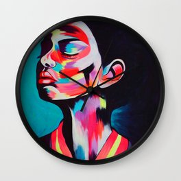 Marina Noir Wall Clock
