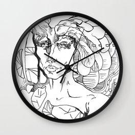 Mindwarp Wall Clock