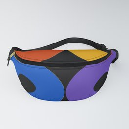 Colorful CDs Fanny Pack