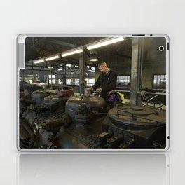 Station for stem locomotives Laptop & iPad Skin