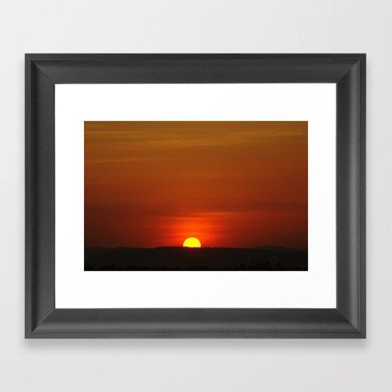 I will come back Framed Art Print