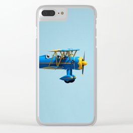 Vintage airplane 4 Clear iPhone Case