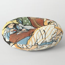 """Wee Sma' Hours"""" by Sadie Wendell Mitchell Floor Pillow"""