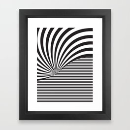 Optical Game 8 Framed Art Print
