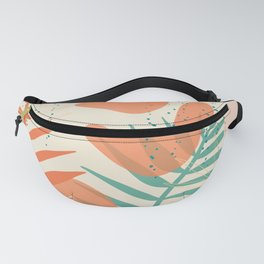 Tropical Shape Pattern Fanny Pack