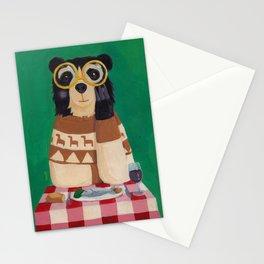Oso con anteojos Stationery Cards