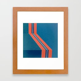 Direction Change 2 Framed Art Print