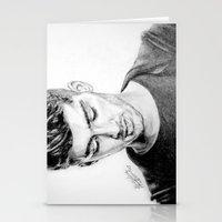 zayn Stationery Cards featuring Zayn by Drawpassionn