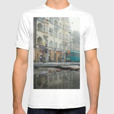 Layers Mens Fitted Tee White MEDIUM