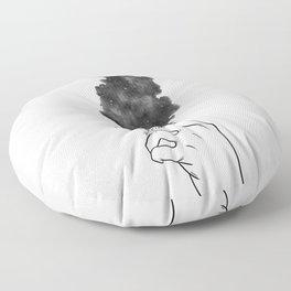 Burning mind. Floor Pillow