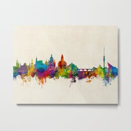 Dresden Germany Skyline Metal Print