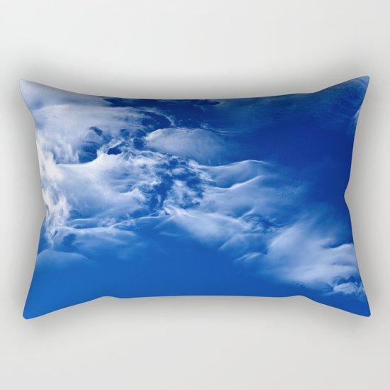 Dark blue sky Rectangular Pillow
