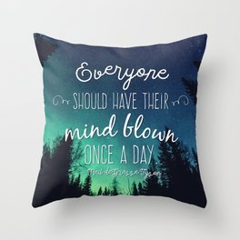 Inspirational Poster - Neil deGrasse Tyson Quote Throw Pillow